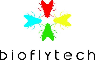 Bioflytech logo y Rotary Club Alicante Puerto