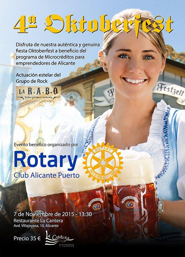 4ª Oktoberfest de Rotary Club Alicante Puerto