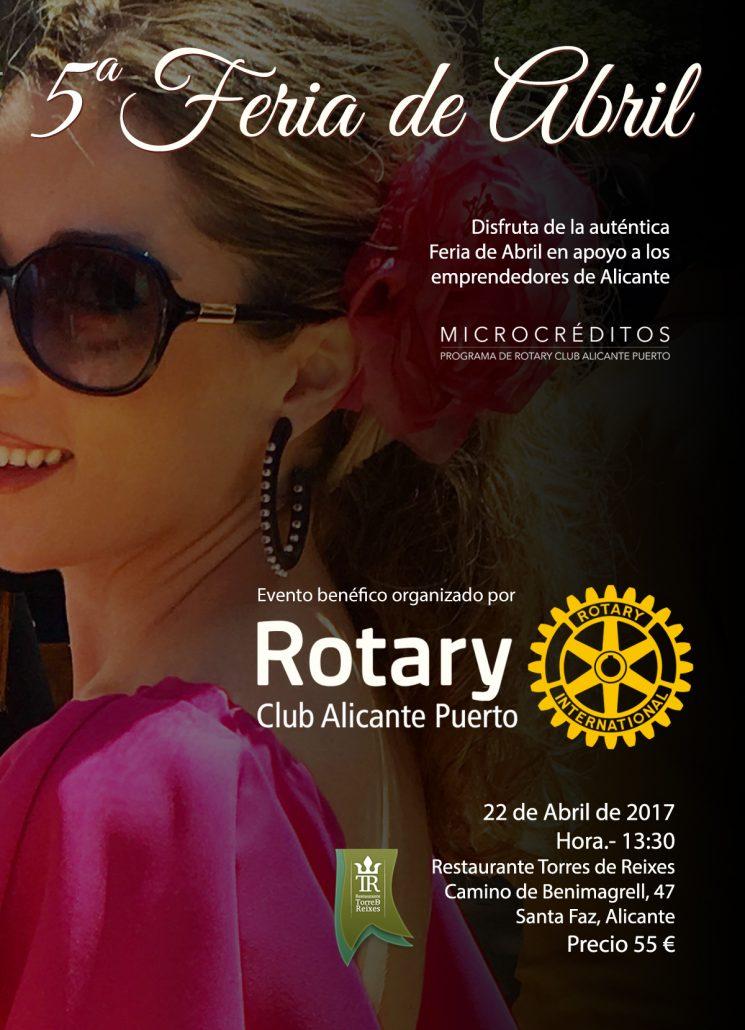 Feria de Abril de Rotary Club Alicante Puerto