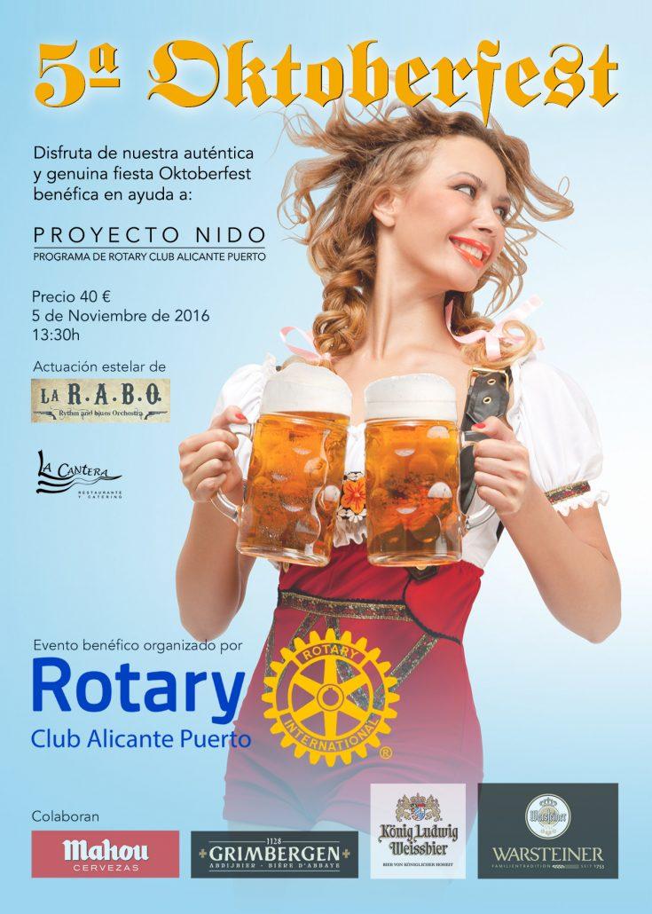 Oktoberfest 2016 Rotary Club Alicante