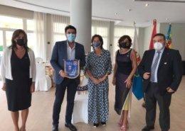 Visita del Alcalde de Alicante, D. Luis Barcala