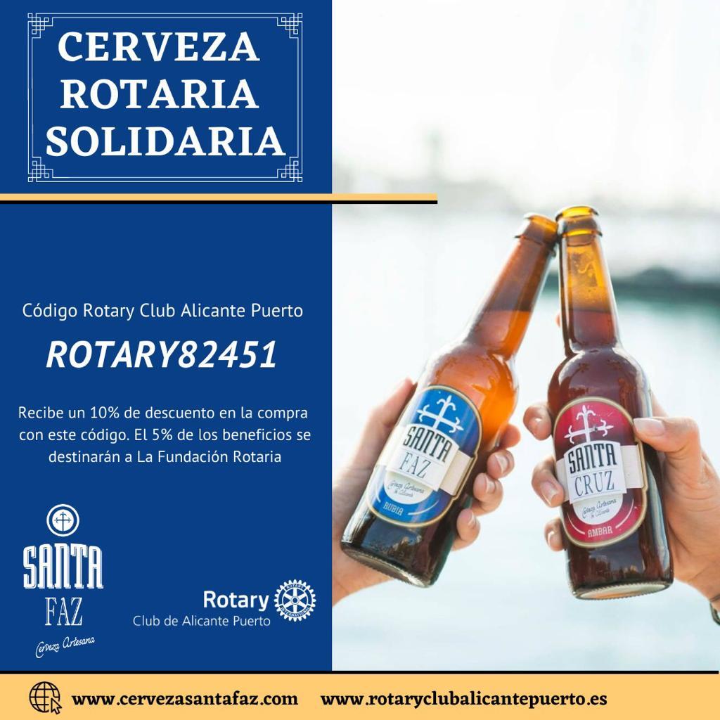 Cerveza artesana de Alicante Santa Faz