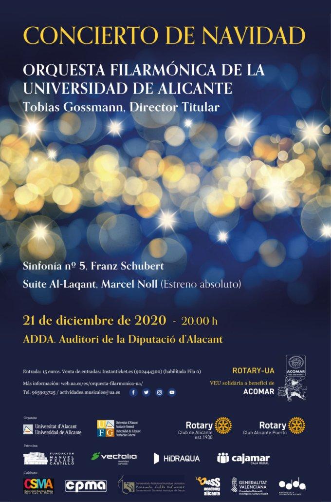 Concierto de Navidad Rotary UA Alicante 2020